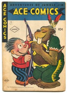 Ace Comics #101 1945- Phantom- Jungle Jim G/VG