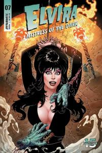 ELVIRA MISTRESS OF DARK (2018 D. E.) #7 VARIANT CVR C ROYLE PRESALE-07/10