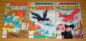 Smurfs #1-3 VF/NM complete series - bronze age marvel comics - peyo set lot 2