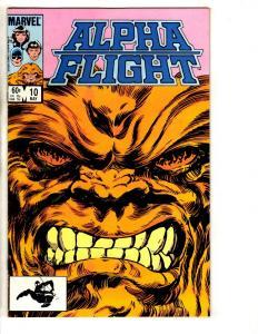 Lot Of 11 Alpha Flight Marvel Comic Books #10 11 12 13 14 15 16 17 18 19 20 CR34