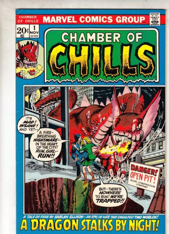 Chamber of Chills #1 (Nov-72) VF/NM High-Grade