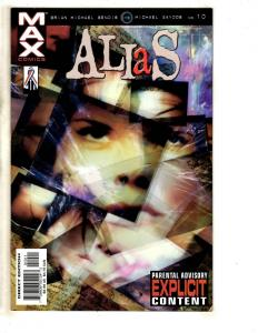 11 Comics Alias 10 Ul X-Men 19 Marvel Boy 1 Captain 6 7 Maverick 8 7 6 5 4 2 JD3