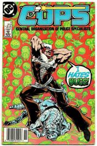 Cops #4 (DC, 1988) VG