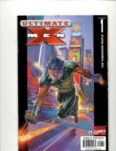 Lot of 9 Ultimate X-Men Marvel Comic Books #1 2 3 4 5 7 8 11 12 EK5