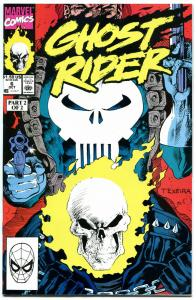 GHOST RIDER #6 7 8 9 10, NM+, Johnny Blaze, Punisher, Mark Texeira, 1990