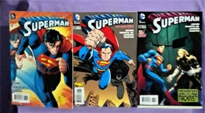 DC New 52 Geoff Johns SUPERMAN #32 - 52, Annual 3 John Romita jr (DC,  2014)!