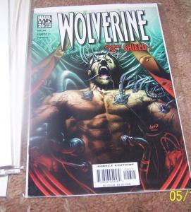 WOLVERINE #26 MARVEL 2005 agent of shield pt 1