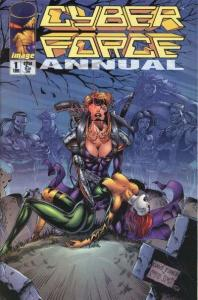 Cyberforce (1993 series) Annual #1, NM (Stock photo)