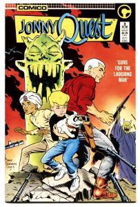 Jonny Quest #3 1986-dave Stevens Cover-nm-