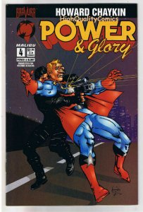 POWER & GLORY #4, NM-, Howard Chaykin, Bravura, Malibu, 1994