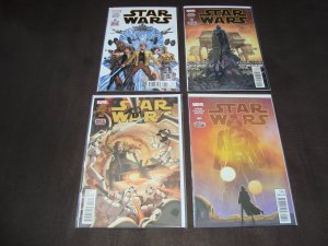LARGE LOT OF 53 STAR WARS COMICS (MARVEL 2015 SERIES)