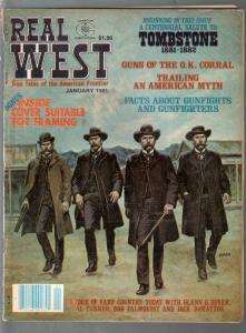 Real West 1/1961-Charlton-Earl Norem-Wyatt Earp-Mario DeMarco-VG