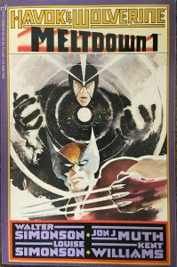 HAVOK & WOLVERINE: MELTDOWN #1 S&N by all 4: the Simonsons/ Muth/ Williams VF-NM