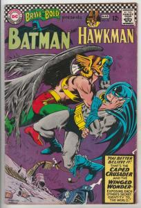 Brave and the Bold, The #70 (Mar-67) VG- Affordable-Grade Batman, Hawkman