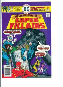 Secret Society of Super Villains, #1 May/June, 1976 (VF)