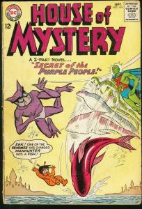 HOUSE OF MYSTERY #145-MANHUNTER FROM MARS-DC G/VG