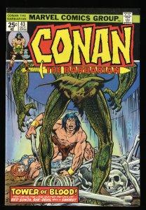 Conan The Barbarian #43 VF 8.0 Marvel Comics