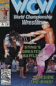 WCW World Championship Wrestling #8 FN; Marvel | save on shipping - details insi