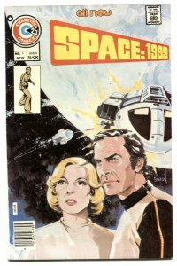 Space: 1999 #1 1975- Charlton TV comic- Staton FN
