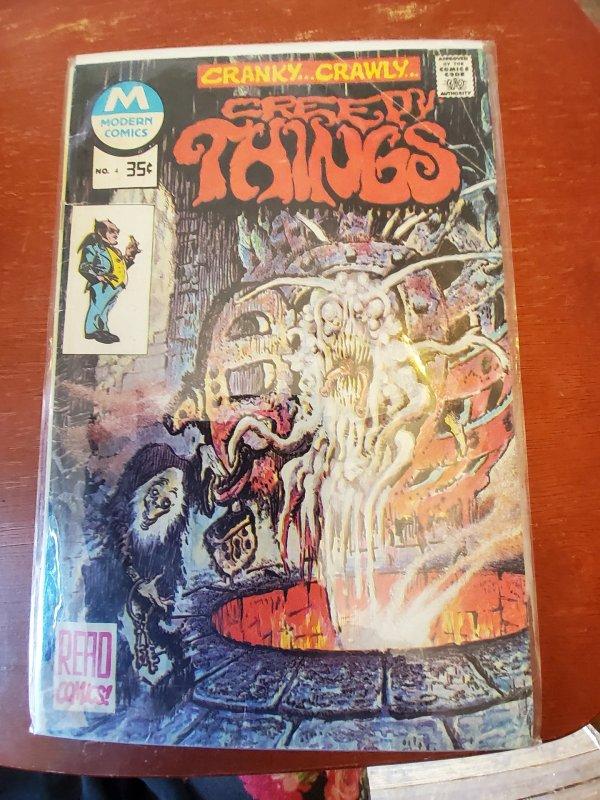Creepy Things #4 (1976)