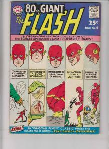 80 Page Giant #4 FN october 1964 - the flash - silver age dc comics