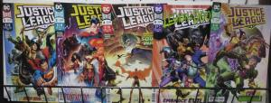 JUSTICE LEAGUE (DC, 2018) # 1,2,4,5,7! VF-NM Scott Snyder,Jim Cheung!Legion/Doom