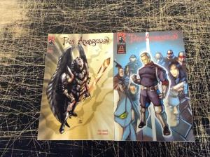 Lot Of 2 The Path Armageddon Ronin Studios Comic Books # 2 3 Pat Tim Loika V2
