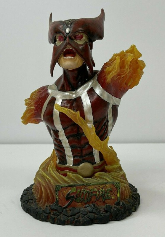 Marvel Art Asylum's Rogues' Gallery SUNFIRE  6in. BUST Only! NO BOX!  See Pics
