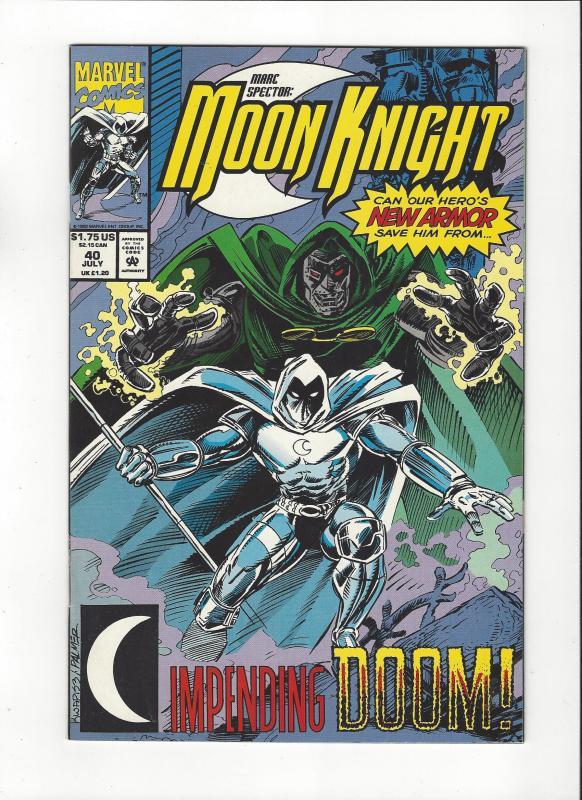 Marc Spector: Moon Knight #40 Vs Moon Knight NM