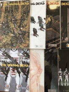 The Walking Dead #155,168,172,174,175,178-180 (2016)