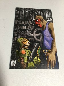 Titan 4 Nm Near Mint Ashcan Francois Vigneault Alternitive Comics