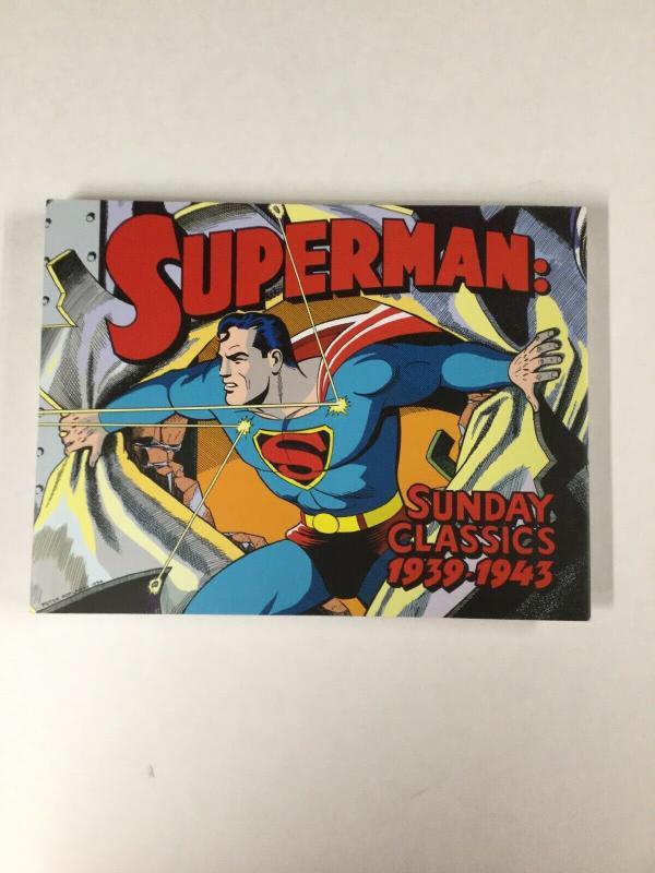 Superman Sunday Classics Hc Harcover 1939-1943 Mint