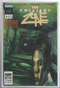 THE TWILIGHT ZONE VOL.#2, ISSUE #8 - NOW COMICS - BAGGED,& BOARDED