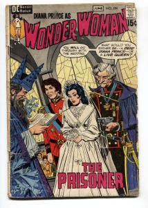 WONDER WOMAN #194 1971-wedding cover-DC BRONZE AGE-comic book