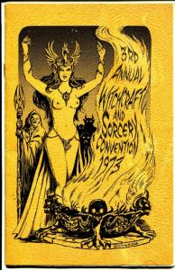 Witchcraft and Sorcery Convention Program Book 1973-3RD  Annual-Bradbury-VG