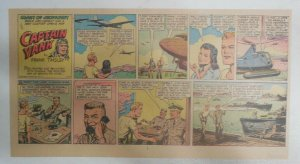 Captain Yank Sunday by Frank Tinsley from 5/20/1945 Size: 7.5 x 15 inches