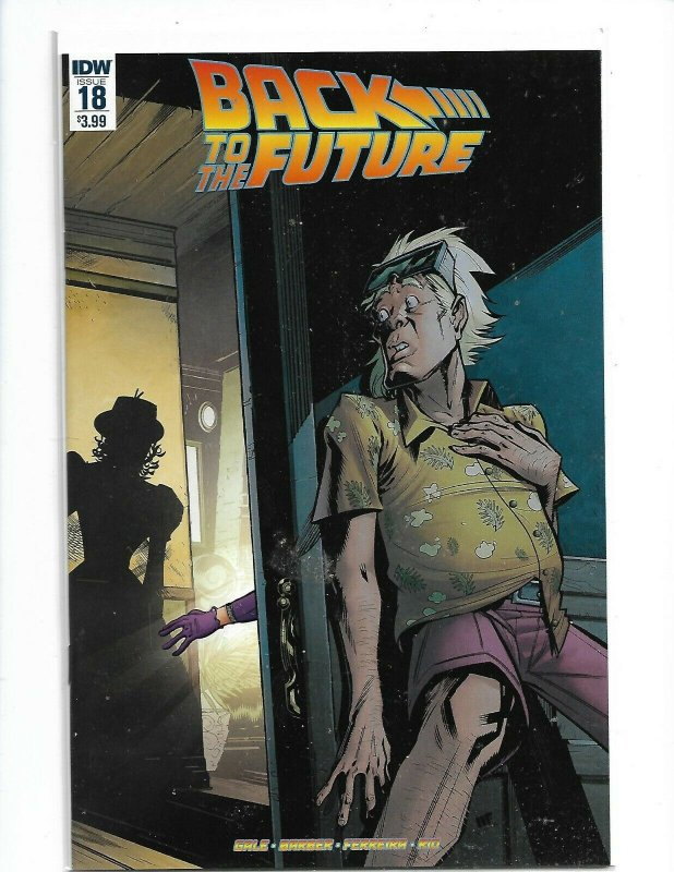 Back To The Future #18 Idw Publishing Comic Book   NM  nw122