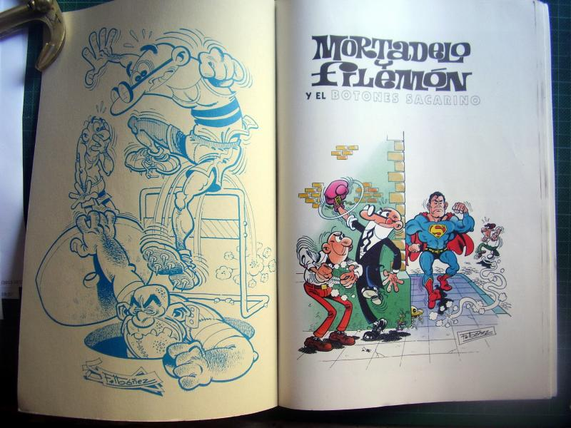 MORTADELO y FILEMON pesadilla por ibañez