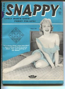 Snappy 3/1960-cheesecake-pin-ups-Betty Page-Bill Ward-Bill Wenzel-VG-
