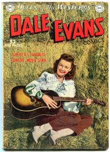 Dale Evans #10 1950- DC Golden Age Western- Alex Toth VG+