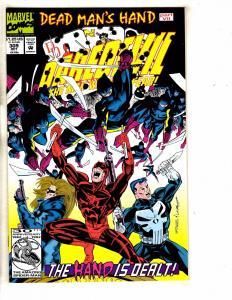 Lot Of 7 Daredevil Marvel Comic Books #309 300 302 303 304 305 308 Defenders RM3