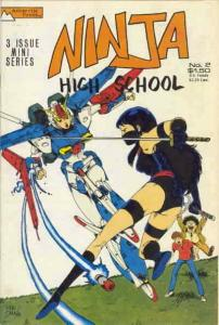 Ninja High School #2 VG; Malibu | low grade comic - save on shipping - details i