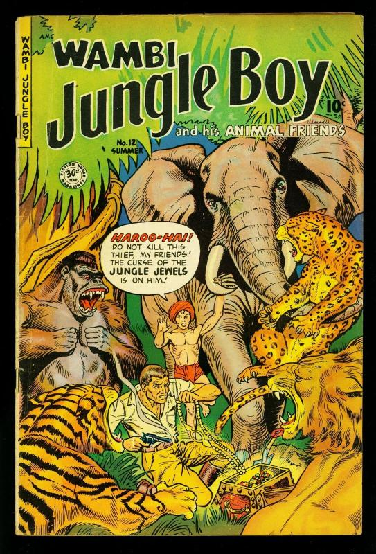 Wambi The Jungle Boy: 8 Short Stories Book 2 (Wambi The Jungle Boy: 8 Shoert Stories)