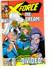 X-Force # 19 NM- Marvel Comic Book X-Men Wolverine Deadpool Domino Cable DB13