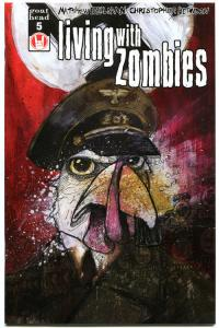 LIVING with ZOMBIES #5, NM-, FrightWorld, Undead, 2005, more Horror in store