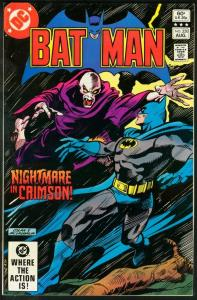 BATMAN #350-1982-DC VF