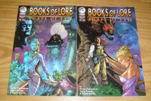 Books of Lore: Shape of Evil #1-2 VF complete series - peregrine comics set lot
