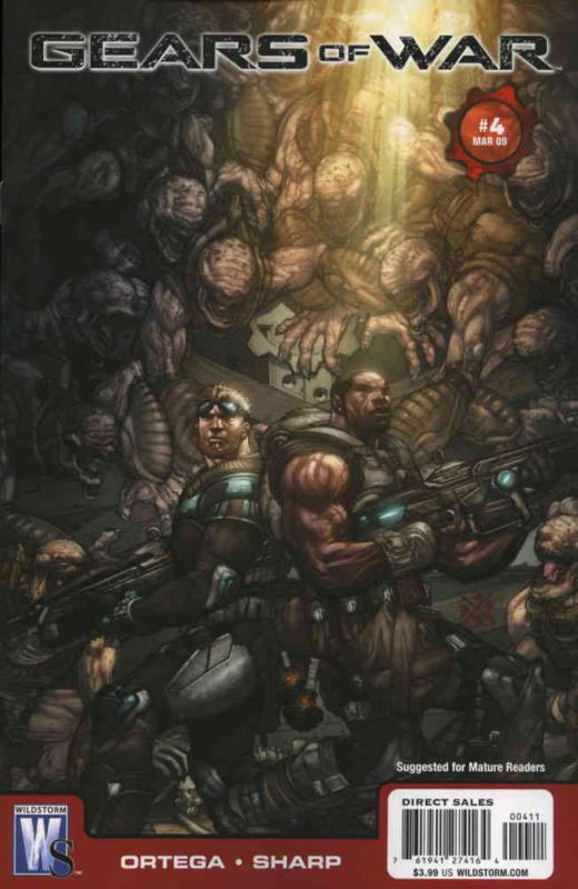 Gears of War #4 VF/NM; WildStorm | save on shipping - details inside
