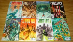 Justice #1-12 VF/NM complete series - alex ross - jim krueger - justice league