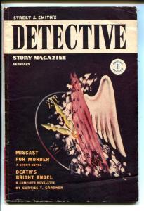 DETECTIVE STORY 02/1949 -JOHN D MACDONALD-MYSTERY-PULP-BRITISH EDITION-vg